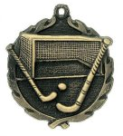 Wreath Field Hockey Medal All Trophy Awards