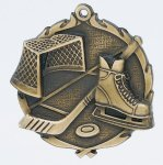 Wreath Ice Hockey Medal All Trophy Awards