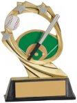 Baseball Cosmic Resin Trophy Baseball Trophy Awards