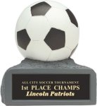 Soccer - Colored Resin Trophy Colored Resin Trophies