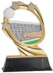 Volleyball Cosmic Resin Trophy Cosmic Resin Trophy Awards