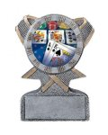 Action Sport Mylar Holder Firefighter Trophy Awards