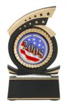 Gold Star Mylar Holder Gold Star Resin Award Trophies