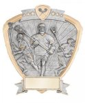 Signature Series Lacrosse Shield Award Lacrosse Trophy Awards