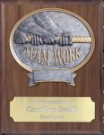 Teamwork Resin Plaque Mount Award Tennis Trophy Awards