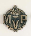 Wreath MVP Medal Victory Trophy Awards