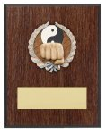 Karate Resin Plaque Mount Award Volleyball Trophy Awards
