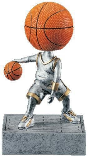 Basketball Bobble Heads Bobble head Resin Trophies